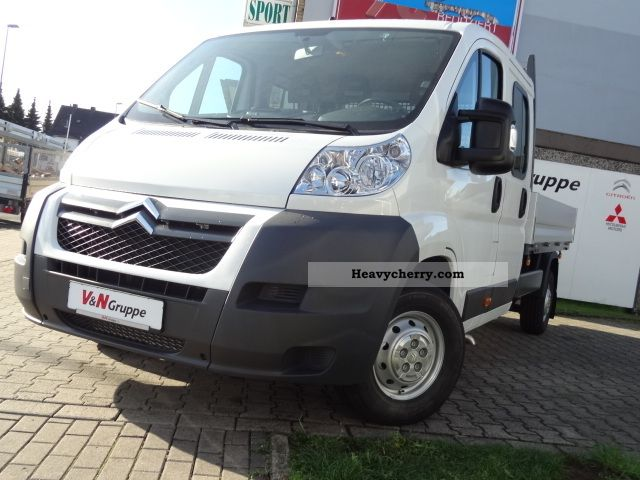 2011 Citroen  Citroën Jumper platform HDi 130 FAP 35 L3 Doppelkabiener Van or truck up to 7.5t Stake body photo