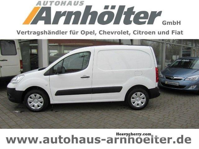 2012 Citroen  Citroën Berlingo L1 Nivau B HDi75 Van or truck up to 7.5t Box-type delivery van photo