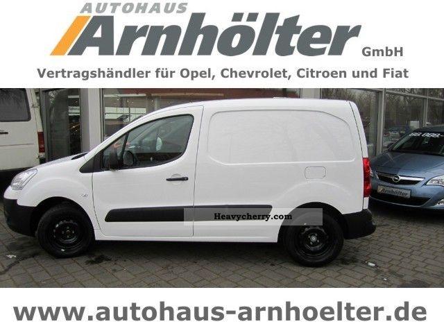 2012 Citroen  Citroën Berlingo L1 Nivau B e-HDi90 climate Van or truck up to 7.5t Box-type delivery van photo