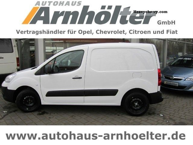 2012 Citroen  Citroën Berlingo L1-B e HDi90 EGS6 climate Van or truck up to 7.5t Box-type delivery van photo