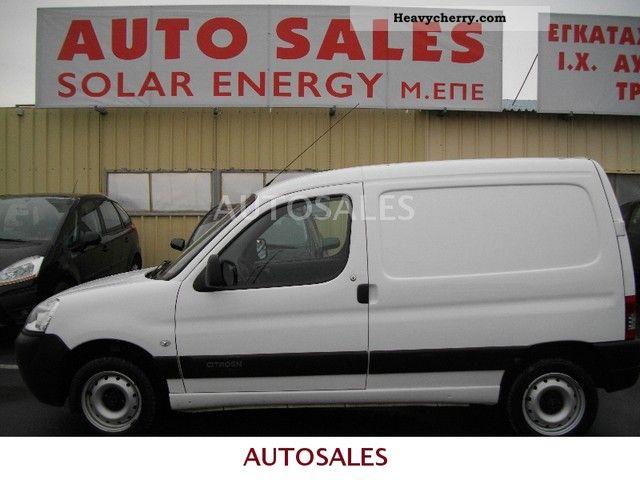 2009 Citroen  Citroën BERLINGO DIESEL Van or truck up to 7.5t Box-type delivery van photo