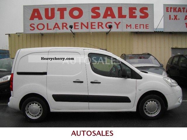 2009 Citroen  Citroën BERLINGO NEW MODEL Van or truck up to 7.5t Box-type delivery van photo