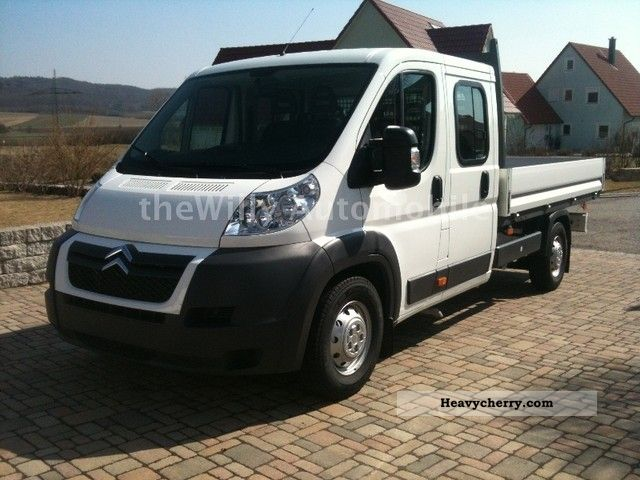 2011 Citroen  Citroen Jumper 2.2 HDI 35 + L4 130hp Euro 5 DOKA Van or truck up to 7.5t Stake body photo