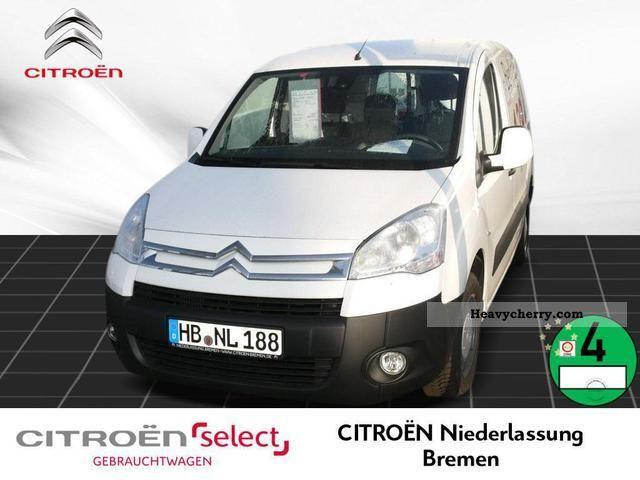 2012 Citroen  Citroën Berlingo L1 1.6 HDi 90 FAP Radio CD Van or truck up to 7.5t Box-type delivery van photo