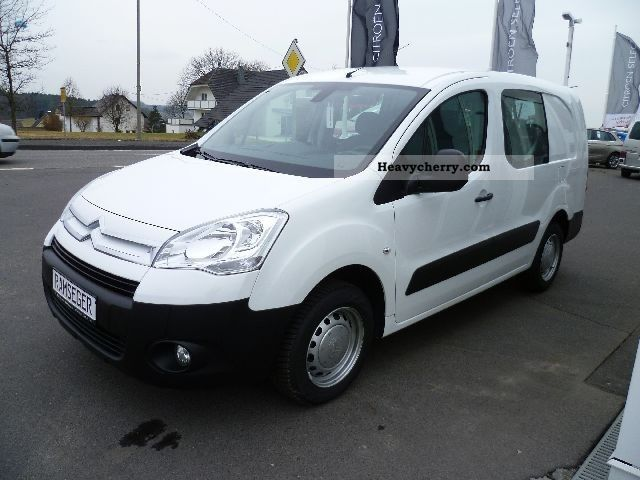 2011 Citroen  Citroen Berlingo HDi 90 DoKa L2 ESP air radio Van or truck up to 7.5t Box-type delivery van photo