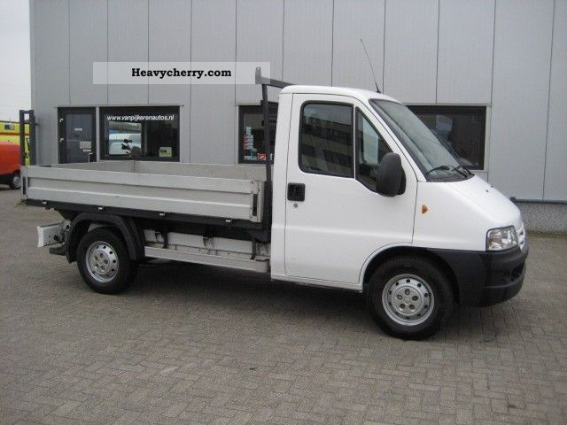 2006 Citroen  Citroen Jumper 2.8 HDI Pickup Van or truck up to 7.5t Stake body photo