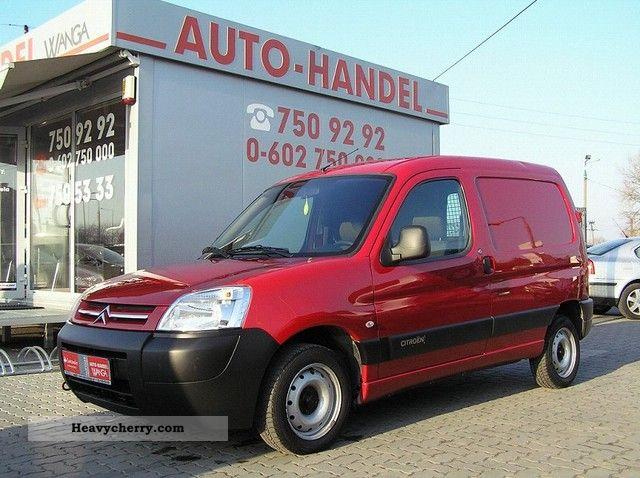 2008 Citroen  Citroën Berlingo FAKTURA -1 23% VAT Van or truck up to 7.5t Box-type delivery van photo