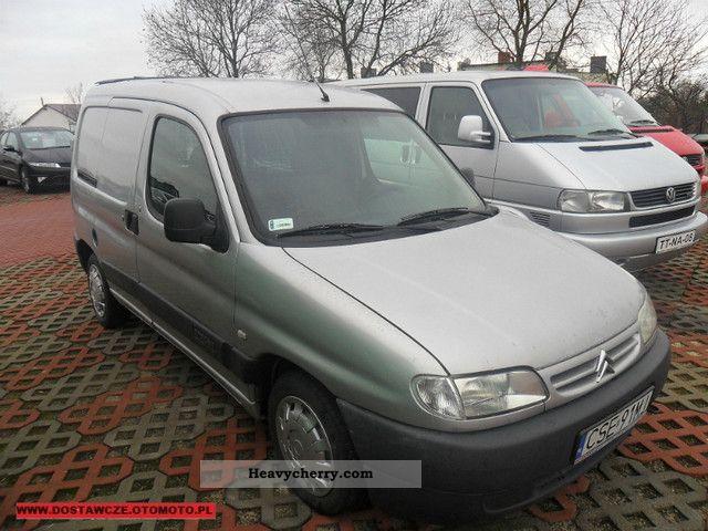 2002 Citroen  Citroën BERLINGO 2.0HDI 90HP # # # 2002 # OKAZJA Van or truck up to 7.5t Box-type delivery van photo