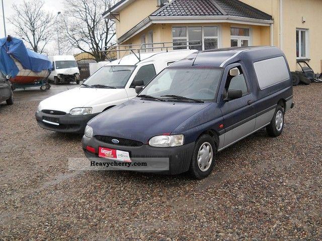 2001 Citroen  Citroen Berlingo 1.8 TD FORD ESCORT EXPRES Van or truck up to 7.5t Other vans/trucks up to 7 photo