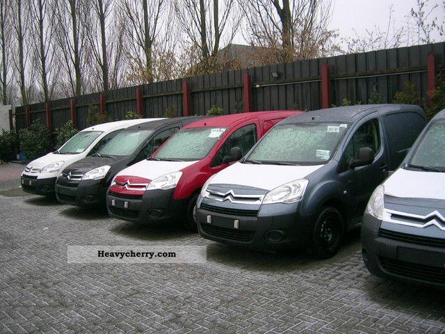 2012 Citroen  BERLINGO Citroën HDi 75 Van Niv B Van or truck up to 7.5t Box-type delivery van photo