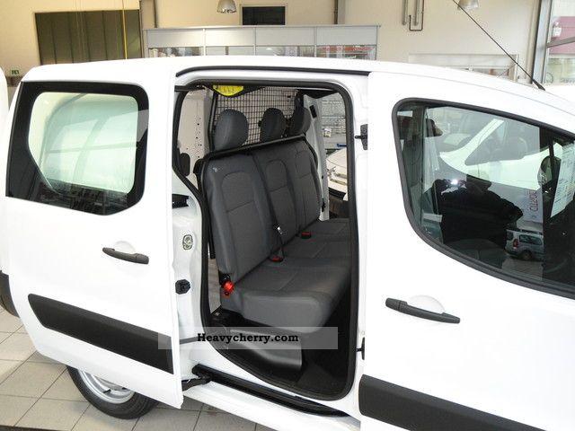 6b55927864 2011 Citroen Citroen Berlingo van double cab (long) HDi90 Van or truck up  to ...