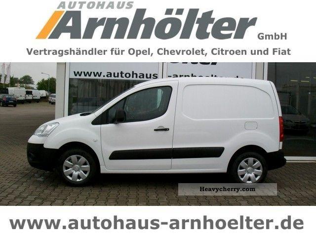 2012 Citroen  Citroën Berlingo HDI 90 e van Level B Van or truck up to 7.5t Box-type delivery van photo