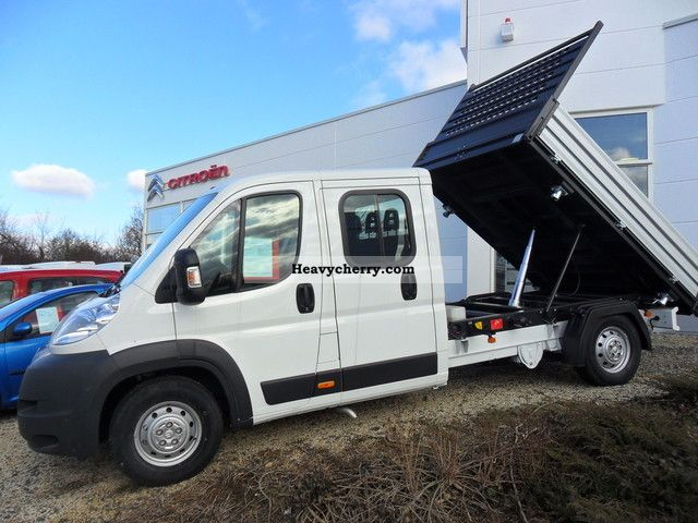 2011 Citroen  Citroën Relay 35 L3 Heavy Trucks Doka Van or truck up to 7.5t Stake body photo