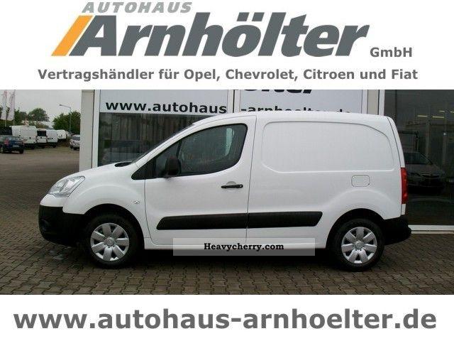 2012 Citroen  Citroën Berlingo HDI 75 kW Niveu B Van or truck up to 7.5t Box-type delivery van photo