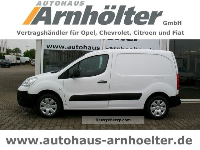2011 Citroen  Citroen Berlingo KAWA e-HDI90 Euro5 level B Van or truck up to 7.5t Box-type delivery van photo