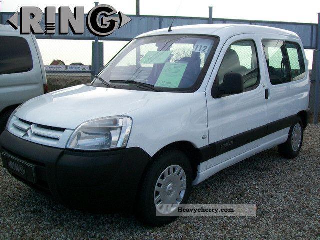 2003 Citroen  Citroën BERLINGO AIR 5 osob 1,9 D MODEL 04R Van or truck up to 7.5t Box-type delivery van photo