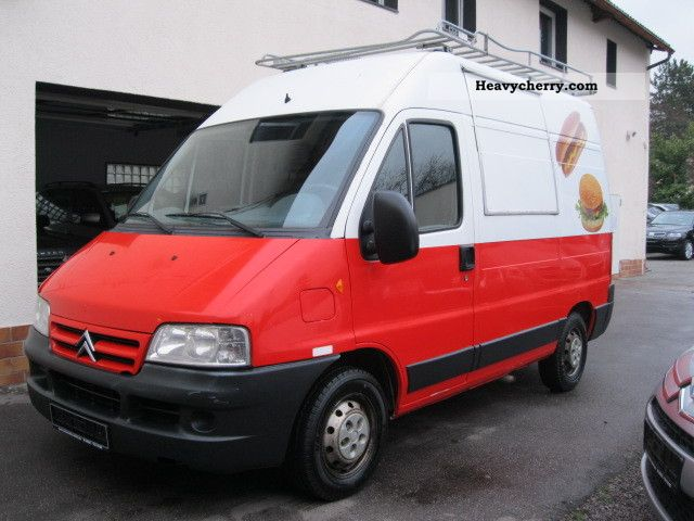 2003 Citroen  Citroen Jumper 2.8 HDI sales structure (SNACK SNACK) Van or truck up to 7.5t Traffic construction photo