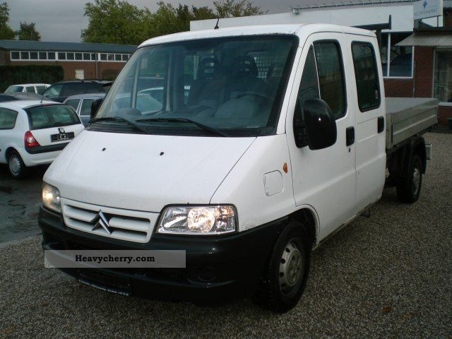2004 Citroen  Citroen Jumper 2.2 HDI DoKa-platform EURO 3 Van or truck up to 7.5t Stake body photo