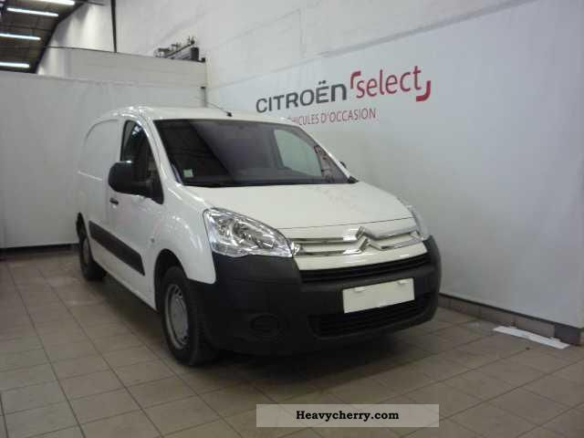 citroen citroen berlingo hdi 92 625 kg court business 2009 box truck photo and specs. Black Bedroom Furniture Sets. Home Design Ideas