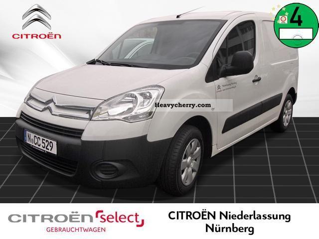 2012 Citroen  Citroën Berlingo L1 van 1.6 e-HDI 90 FAP Van or truck up to 7.5t Box-type delivery van photo