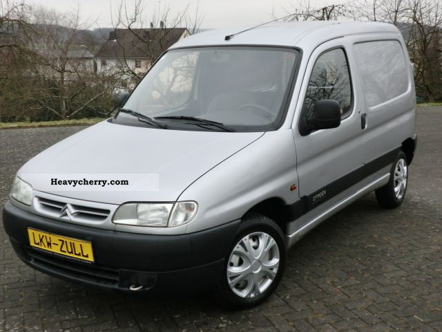 1998 Citroen  Citroen Berlingo 44000.KM - HU-AU + NEW + WARRANTY Van or truck up to 7.5t Box-type delivery van photo