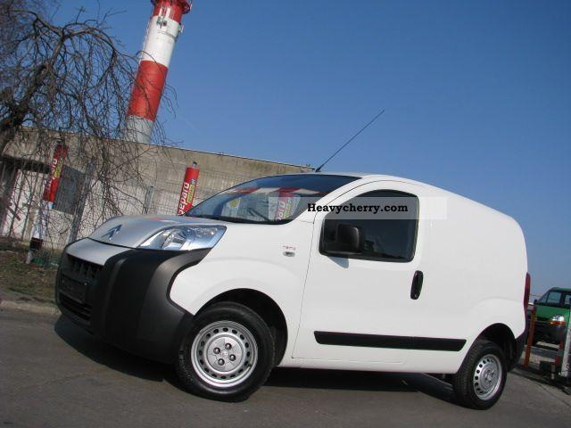 2010 Citroen  Citroën Nemo NEMO 1.4 HDI FURGON GWARANCJA 79tys.km! Van or truck up to 7.5t Box-type delivery van photo