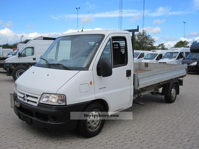 2003 Citroen  Citroën Jumper Van or truck up to 7.5t Stake body photo