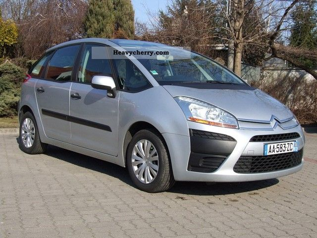 citroen citro n c4 picasso 1 6 hdi van ci arowy 2 os 2009 other vans trucks up to 7 photo and specs. Black Bedroom Furniture Sets. Home Design Ideas