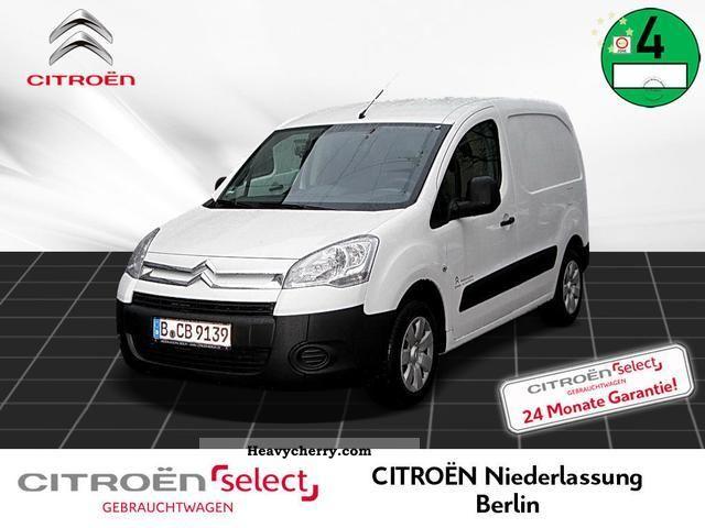 2012 Citroen  Citroën Berlingo L1 1.6 HDi 75 FAP Niva NL Berli Van or truck up to 7.5t Box-type delivery van photo