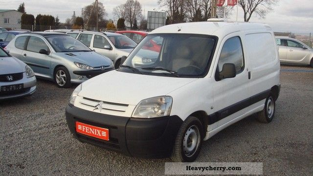 2008 Citroen  Citroën Berlingo HDI CLIMATE Van or truck up to 7.5t Other vans/trucks up to 7 photo