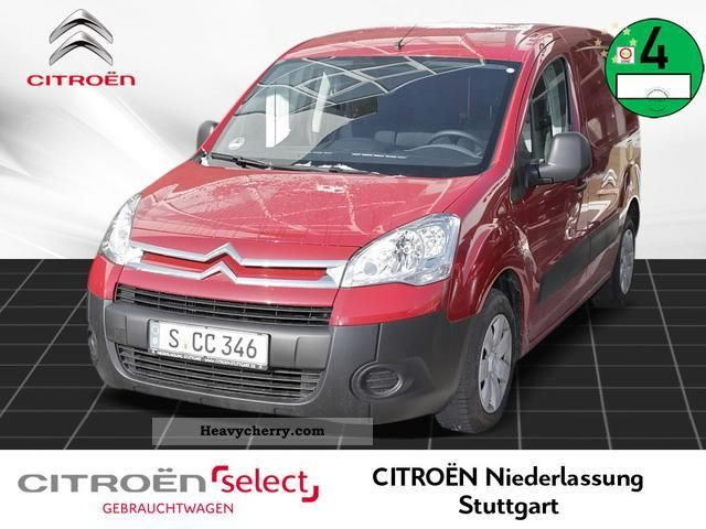 2011 Citroen  Citroen Berlingo L1 1.6 HDi 75 Ni KAWA Van or truck up to 7.5t Box-type delivery van photo