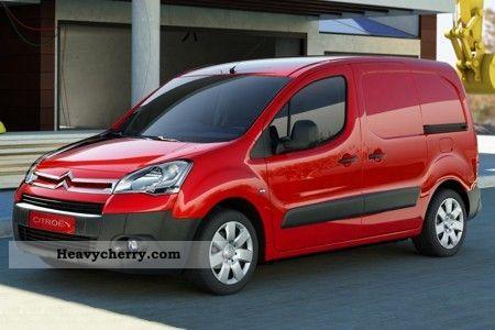 2011 Citroen  Citroen Berlingo Van or truck up to 7.5t Box-type delivery van photo