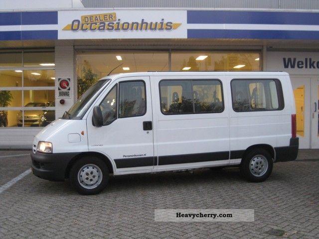 citroen citroen jumper 2 8 hdi automaat 9 pers airco 2006 estate minibus up to 9 seats. Black Bedroom Furniture Sets. Home Design Ideas