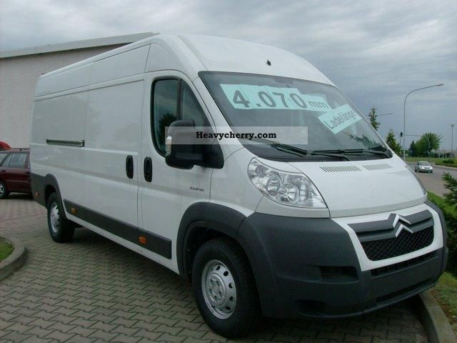 2011 Citroen  Citroën Jumper L4H2 GRKW HDi130 FAP Van or truck up to 7.5t Other vans/trucks up to 7 photo