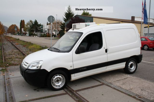 3a09ba126adfed 2006 Citroen Citroen Berlingo 1.9 refrigerated vans Van or truck up to 7.5t  Refrigerator body