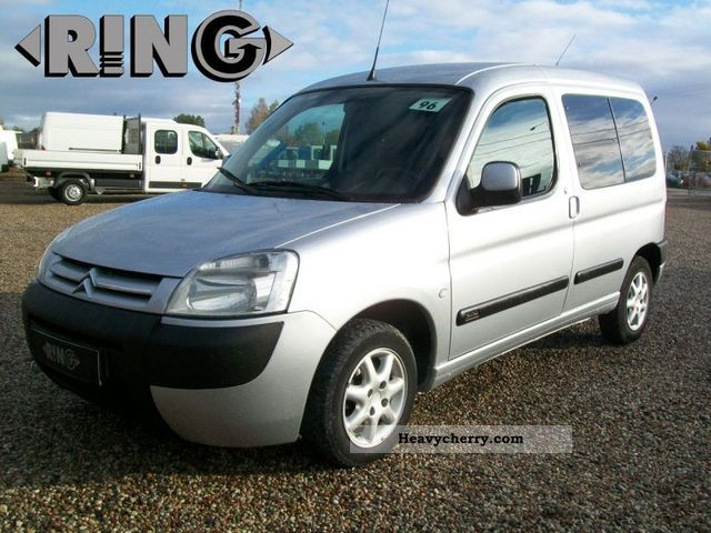 citroen citro n berlingo air 2 0 hdi 5 osob salonowy 2003 box type delivery van photo and specs. Black Bedroom Furniture Sets. Home Design Ideas