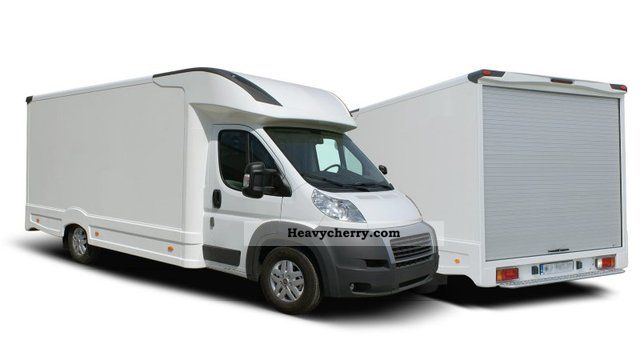 2011 Citroen  Peugeot Boxer L3 2.2HDI 130HP case Van or truck up to 7.5t Box photo