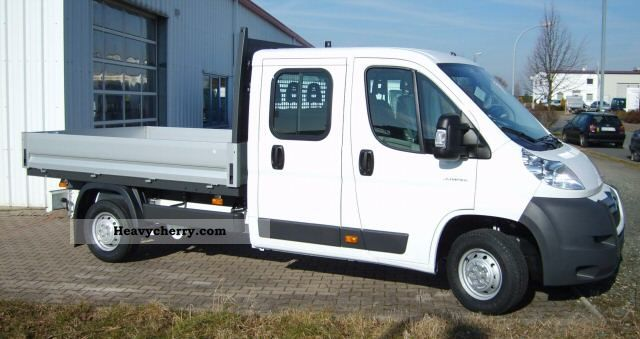 2011 Citroen  Citroën Jumper double bunk cab 35 Heavy L4 HDi 150 Van or truck up to 7.5t Stake body photo