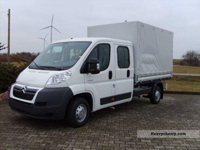 2011 Citroen  Citroën Jumper Platform DK m. Plane 33 L2 HDi 110 Van or truck up to 7.5t Stake body photo