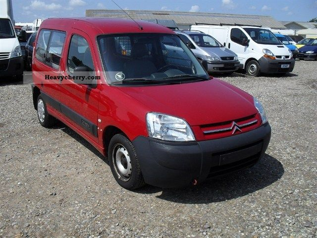 citroen citroen berlingo 1 9 d cityvan 2003 other vans trucks up to 7 photo and specs. Black Bedroom Furniture Sets. Home Design Ideas
