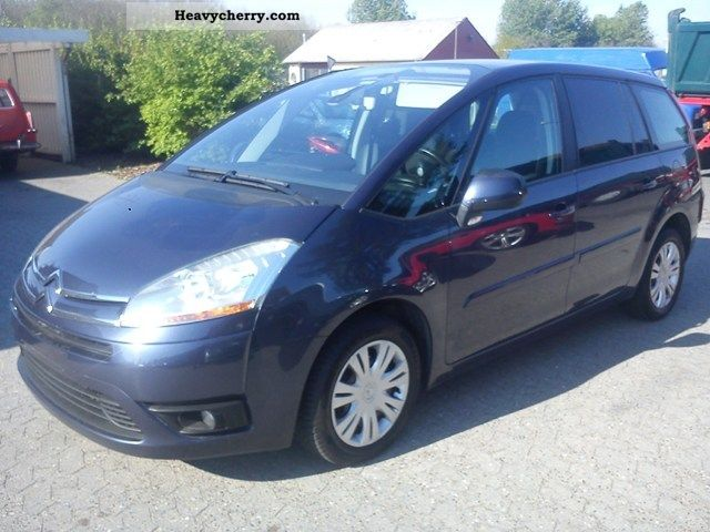 citroen citroen grand c4 picasso 1 6 hdi 110 vtr van 2007 other vans trucks up to 7 photo and. Black Bedroom Furniture Sets. Home Design Ideas