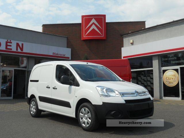2012 Citroen  Citroen Berlingo Van or truck up to 7.5t Other vans/trucks up to 7 photo