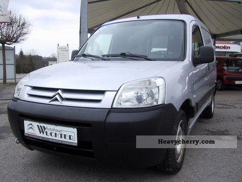 2008 Citroen  Citroën Berlingo 600 1.4 i level A Van or truck up to 7.5t Box-type delivery van photo
