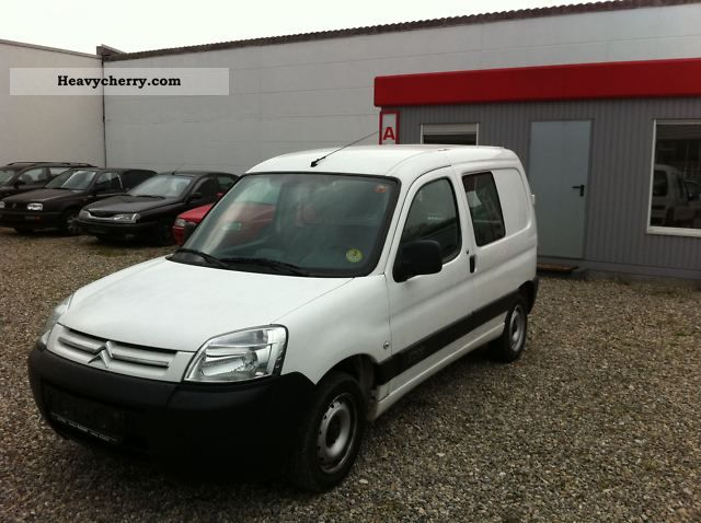 citroen citro n berlingo 1 9 d 110 000 km fixed price 2006 box type delivery van photo and. Black Bedroom Furniture Sets. Home Design Ideas