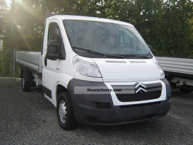 2008 Citroen  Citroën Jumper L4 platform Van or truck up to 7.5t Stake body photo