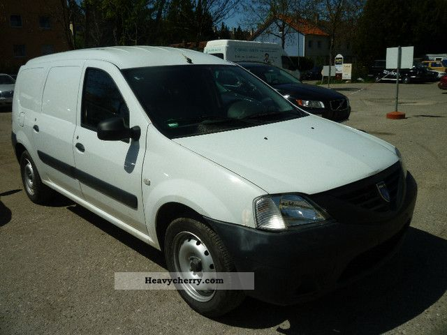 dacia logan 2009 box type delivery van photo and specs. Black Bedroom Furniture Sets. Home Design Ideas