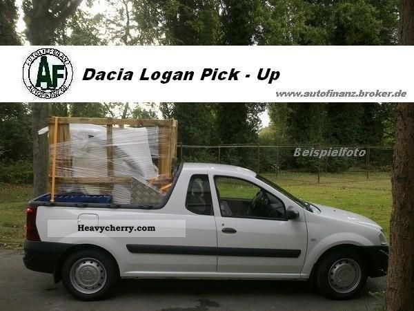 dacia logan pick up 2011 stake body truck photo and specs. Black Bedroom Furniture Sets. Home Design Ideas