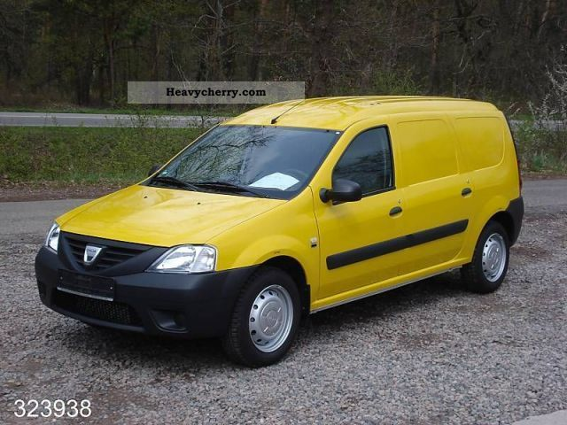 dacia van logan 1 5 dci 2011 box type delivery van photo and specs. Black Bedroom Furniture Sets. Home Design Ideas