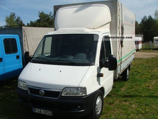 Fiat Ducato Maxi Plan Deka 08 02 Skrzynia 4m 2004 Other Vans  Trucks Up To 7 Photo And Specs