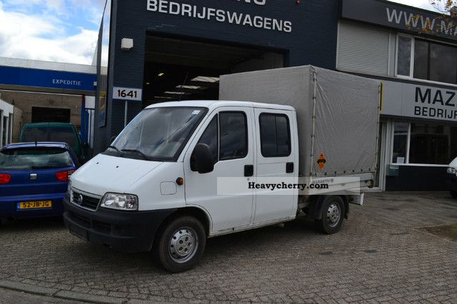 fiat ducato 2 8 jtd 4x4 doka 93kw net 2006 stake body truck photo and specs. Black Bedroom Furniture Sets. Home Design Ideas